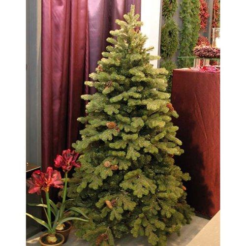 Abete artificiale KONRAD con pigne, 390 cm, Ø 225 cm - Albero di natale / Abete verde - artplants
