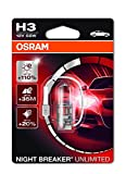 Osram NIGHT BREAKER UNLIMITED H3, 64151NBU-01B, 12V, Einzelblister