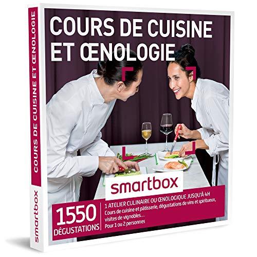 SMARTBOX - Cours de cuisine et œnologie - À choisir parmi 1550 délicieuses...