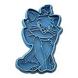 Cuticuter Marie Aristochats Moule de Biscuit, Bleu, 8x 7x 1.5cm