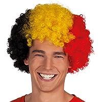 Boland 61903 - Adulto Peluca Afro Bélgica, tamaño de la unidad, multicolor