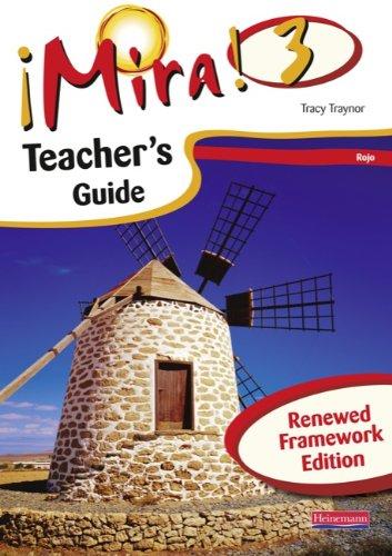 Mira 3 Rojo Teacher's Guide Renewed Framework Edition