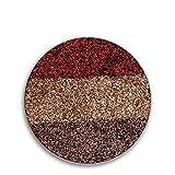 Yazidan 3 Farbplatte DIY Makeup Lidschatten Diamant Lidschatten Leuchtenden Lidschatten Farbabstimmung Farbverlauf Lidschatten erröten Farbplatte Eyeshadows Flawless Palette