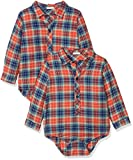 United Colors of Benetton Baby-Jungen Hemd Shirt, Rot (Red Check 901), 62