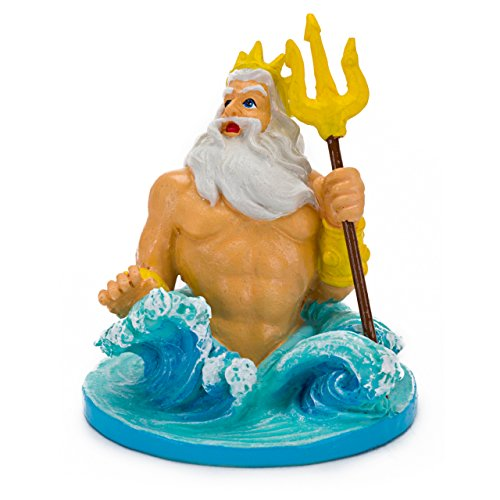 Little Mermaid King Triton Aquarium Ornament, Mini ()