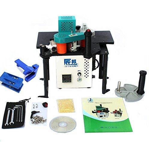 CGOLDENWALL JBT90 PVC-Kanten-Band, tragbar, Kantenschleifmaschine, für Holzbearbeitung, Möbel, Schränke, mit manuellem Trimmer