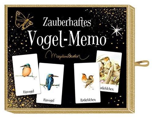 Schachtelspiel - Zauberhaftes Vogel-Memo (M. Bastin)