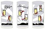 Pfälzer Schorlegirls - Schoppenglas - 0,5 Liter