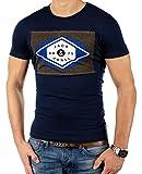 JACK & JONES Herren T-Shirt Summer-Sale Verschiedene Modelle (S, Blau (Navy Blazer Fit:Tall&Slim jjcoSTAY))