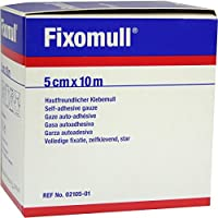 FIXOMULL Klebemull 5 cmx10 m 1 St preisvergleich bei billige-tabletten.eu