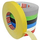 Tesa 4651 Premium Gewebeband verschiedene Breiten und Farben wählbar/gelb 19 mm x 50 m