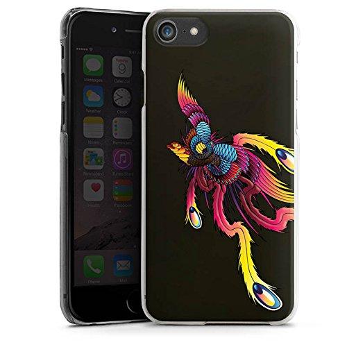 Apple iPhone X Silikon Hülle Case Schutzhülle Phoenix Feder Tattoo Hard Case transparent