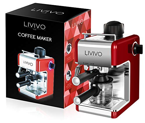 LIVIVO Professional Espresso Cap...