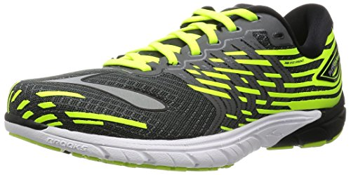 Brooks PureCadence 5, Chaussures de Sport Homme Antracite/Lime