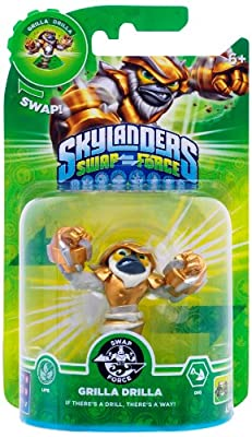 Skylanders Swap Force - Swappable Character pack - Grilla Drilla (Xbox 360/PS3/Nintendo Wii U/Wii/3DS) by Activision