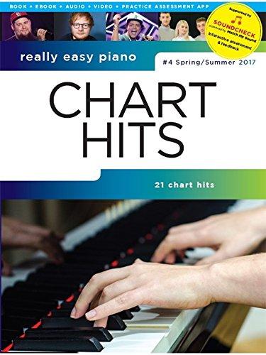 Really Easy Piano: Chart Hits - 4 Spring/Summer 2017