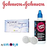 #7: Johnson & Johnson Acuvue Oasys Contact Lens (6 Lens Pack) with Free Lens Care Kit By Lens4Eye