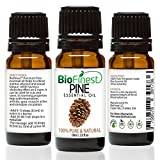 Biofinest Pine Oil - 100% Pure Pine Essential Oil - Premium Organic - Therapeutic Grade - Best For Aromatherapy - Improve mood - Heighten Awareness - FREE E-Book (10ml)