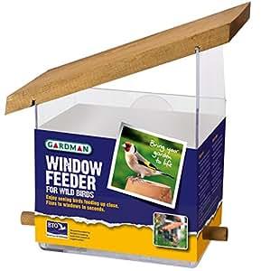 Gardman A01034 Mangeoire de Fenêtre 14 cm