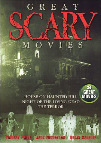 Great Scary Movies : House on haunted hill ; Night of the living dead ; The terror [Import USA Zone (House Haunted Scary Movie)