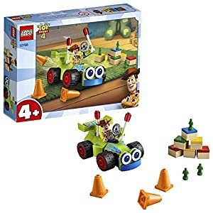 LEGO Juniors 4+ Toy Story 4 Woody e RC, Set di Costruzioni con Minifigure, 10766  LEGO