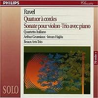 Ravel: String Quartet; Violin Sonata; Piano Trio