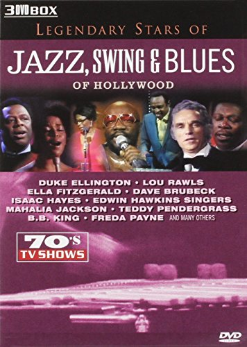 Various Artists - Legendary Stars of Jazz, Swing & Blues [3 DVDs] Preisvergleich