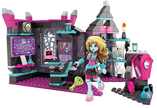 Mega Bloks Toy - Monster High Biteology Class 194 Piece Playset with Lagoona Doll