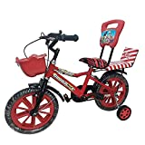 Global Bikes Spider 14T Kids Bicycle for 2 to 5 Year Fully Adjustable
