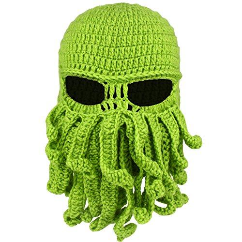 Magic Zone Octopus Balaclava Gesichtsmaske, Winter Wolle Winddichte Winter Warm Ski Maske für Männer und Frauen (Thermische Werfen)