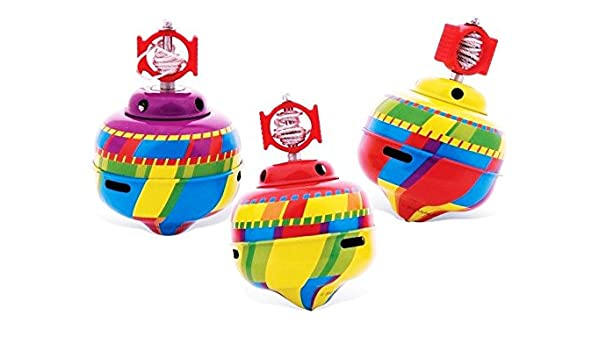 Schylling Whistling Tin Top Toy