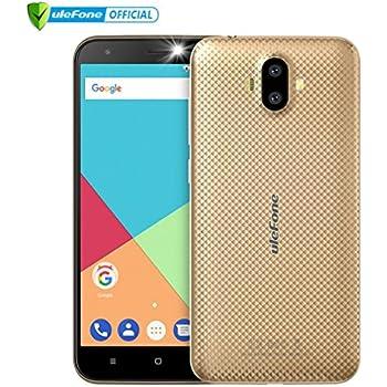 ULEFONE S7- Móviles Libres 3G (Android 7.0 Pantalla de 5.0,Cámara Trasera de 13.0MP , 16GB de ROM , 2GB de RAM, MTK6580 1.3GHz Quad Core , Dual SIM ...