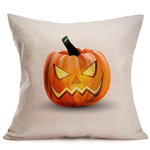 �ge, LSAltd Leinen Schlafzimmer Kissenbezug Home Decor (B) (Queen B Halloween-kostüm)