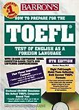 HOW TO PREPARE FOR THE TOEFL LIVRE + CD ROM