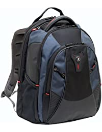"Wenger 600632 MYTHOS 16"" Laptop Backpack , Triple Protect compartment with case stabalising platform in Blue {27 Litres}"