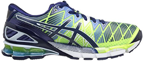 Asics  T3E4Y 0451, Baskets pour homme Blue/White/Emerald Green