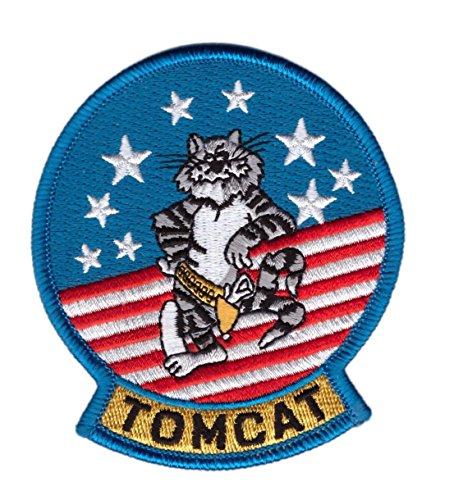 (Titan One Europe Tom Cat Top Gun Movie Costume Airforce Navy Fighter Cosplay Costume Jumpsuit Patch Taktisch Aufnäher Aufbügler)