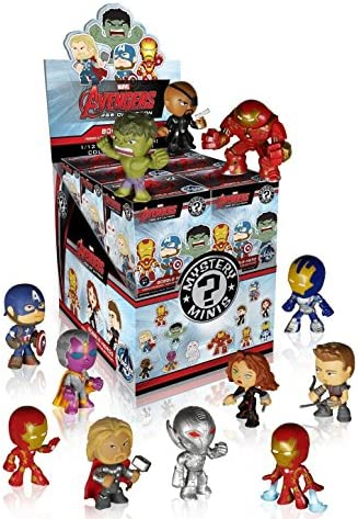 Funko Marvel Avengers 2 Age of Ultron Mystery Minis Vinyl Mini-Figure Display Box - Contains 12 Blind Box Figures by Mystery Minis | Mode Attrayant