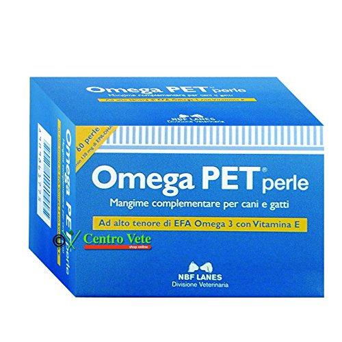 OMEGA PET 60 PERLE - Integratore per il recupero da malattie infiammatorie e degenerative per cane e gatto