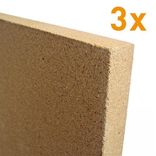 raik V2-30-3 x 3x 30mm Vermiculite Platte 400 x 600 mm