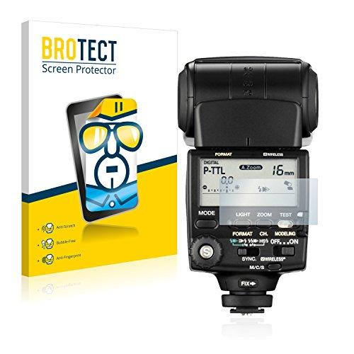 BROTECT Schutzfolie für Pentax AF-540 FGZ [2er Pack] - klarer Displayschutz
