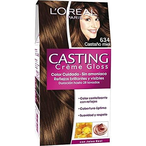 Coloración Sin Amoniaco Casting Créme Gloss 634 Castaño Miel de L'Oréal Paris