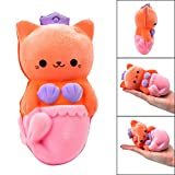 Tomatoa Squishes Toy Furry Beauty Cat Stress Relief Slow Rising Squishy Scented Collections Gift/Decorative Toys for Kids & Adults (Multicolor)
