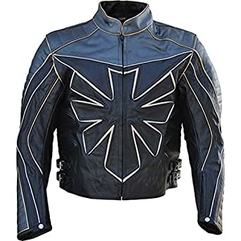 giacca Triumph moto vera uomo da in Classyak pelle it Amazon Custom UFBxR