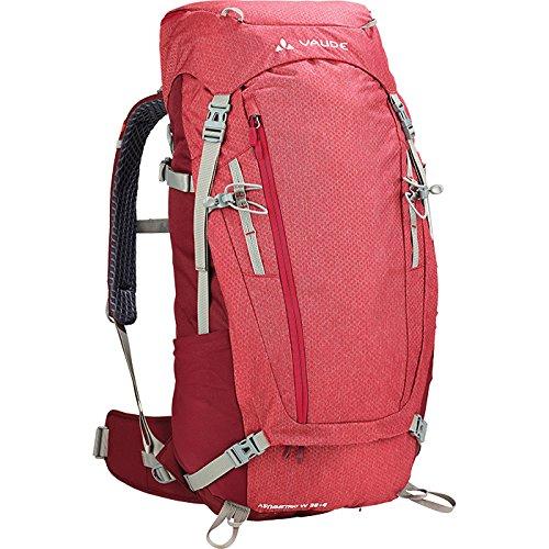 Vaude Damen Asymmetric 38+8 Rucksack, Indian red, one Size