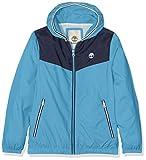 Timberland Jungen Jacke Hooded Jacket, Blau (Blue 838), 10 Jahre