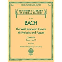 The Well-Tempered Clavier 48 Preludes and Fugues: Complete Books I and II - Piano - Bach Well