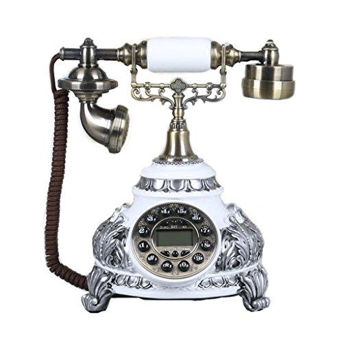 Phone Hochzeitsgeschenk-Knopf-Mobiltelefon-Drehbeschleunigungs-Knopf Altmodisches chinesisches Hirten-Handy-Haupttelefon-chinesische Art-vorzügliches geschnitztes örtlich festgelegtes Telefon YHX (Schwarz Distressed Sitz)