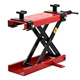 AllRight Motorcycle Lift Bike Motorcycle Stand Scissor Lift Jack Paddock Table Bench Workshop