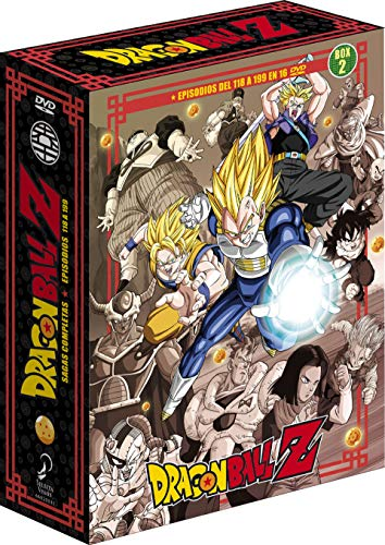 Dragon Ball Z Sagas Completas Box 2 Ep. 118 A 199 [DVD]
